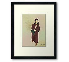 Portrait Practice - Vlad Framed Print