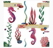 Sea pattern Kids Tee