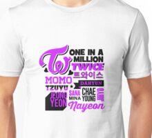TWICE Collage Unisex T-Shirt