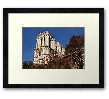 Notre-Dame de Paris – French Gothic Elegance in the Heart of Paris Framed Print