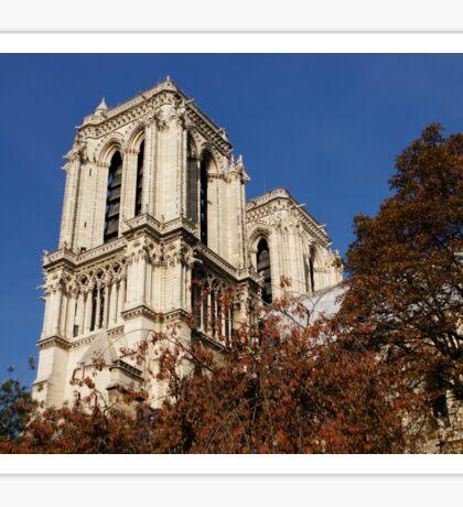 Notre-Dame de Paris – French Gothic Elegance in the Heart of Paris Sticker