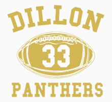 Dillon Panthers Team One Piece - Short Sleeve