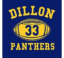 Dillon Panthers Team Photographic Print