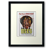 THE BEES B MOVIE Framed Print