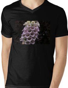 Exquisite Foxgloves Up Close Mens V-Neck T-Shirt
