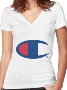 Champion Women's Fitted V-Neck T-Shirt