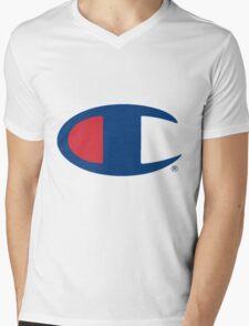 Champion Mens V-Neck T-Shirt