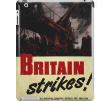 Britain Strikes! iPad Case/Skin