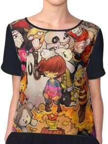 Awesome Undertale Chiffon Top