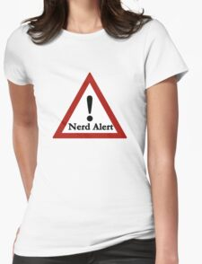Nerd alert Womens Fitted T-Shirt