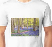 Bluebells in Spring Unisex T-Shirt
