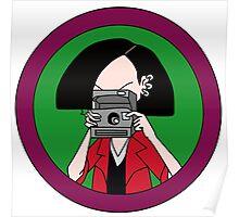 Jane Lane camera Poster