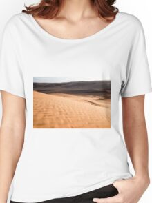 Desert sand dunes.  Women's Relaxed Fit T-Shirt