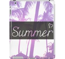 Summer! iPad Case/Skin