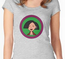 Jane Lane Women's Fitted Scoop T-Shirt