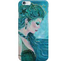 Moonlit mermaid iPhone Case/Skin