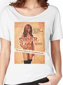 SINNER B MOVIE Women's Relaxed Fit T-Shirt