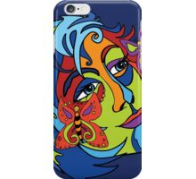 Butterfly Lady iPhone Case/Skin
