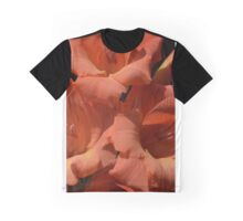 Gladiola in orange hued glory Graphic T-Shirt