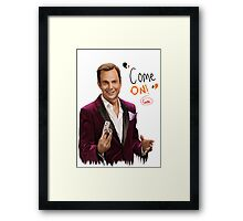 GOB with Quote Framed Print