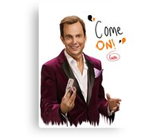 GOB with Quote Canvas Print