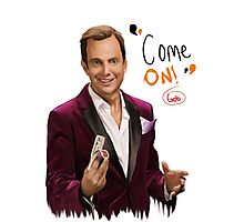 GOB with Quote Photographic Print