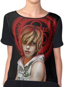 Our Lady of Chaotic Justice Chiffon Top