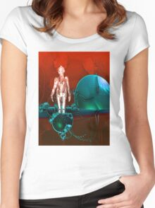 Cyborg factory Women's Fitted Scoop T-Shirt