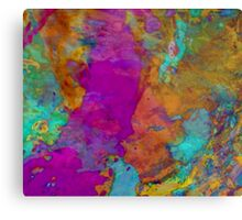 Abstract Affection Metal Print