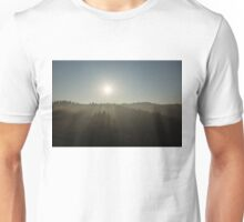 Cool Mist and Sunbeams  Unisex T-Shirt