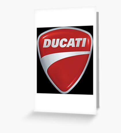 Ducati Shield Logo Greeting Card