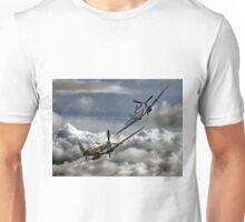 RAF WW2 Spitfire Tailchase Unisex T-Shirt