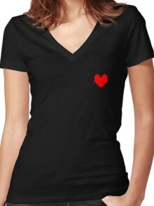 Determination Women's Fitted V-Neck T-Shirt