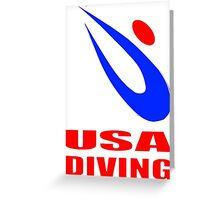 Team USA Diving Greeting Card