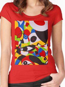 RAINFOREST SMART PHONE CASE  (Tropics) Women's Fitted Scoop T-Shirt