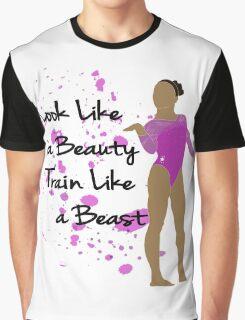 Gymnastics Quote Purple Graphic T-Shirt