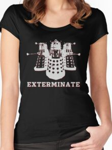 Exterminate Women's Fitted Scoop T-Shirt
