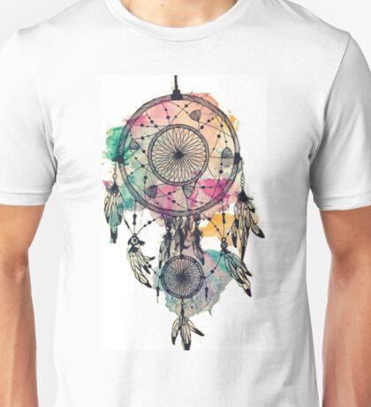 Watercolour Dreamcatcher Unisex T-Shirt