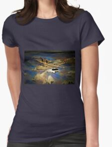 Saro Cloud A29 of the Royal Air Force Womens Fitted T-Shirt