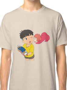 Sweet Ponyo Kiss Classic T-Shirt