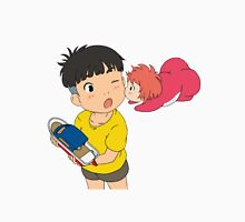 Sweet Ponyo Kiss Unisex T-Shirt