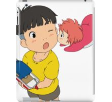 Sweet Ponyo Kiss iPad Case/Skin