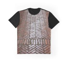 Red Brick Paving Graphic T-Shirt