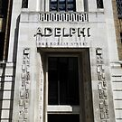 London Deco: Offices - The Adelphi Block (detail) by GregoryE