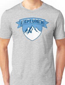 Explorer Mountain T Shirt Unisex T-Shirt