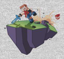 Minecraft SkyWars Kids Tee