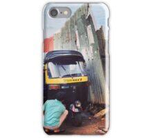 Car Wash, Mumbai iPhone Case/Skin