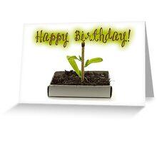 Happy Birthday - Biology Greeting Card