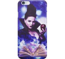 The Evil Queen's Spell book iPhone Case/Skin