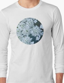Faded Queen Ann's Lace Long Sleeve T-Shirt